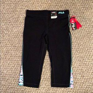 Fill Sport capri leggings. Small